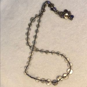 Chico's Long Disc Necklace